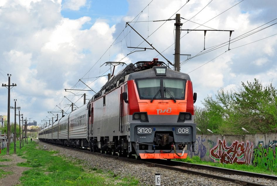 поезд, ржд